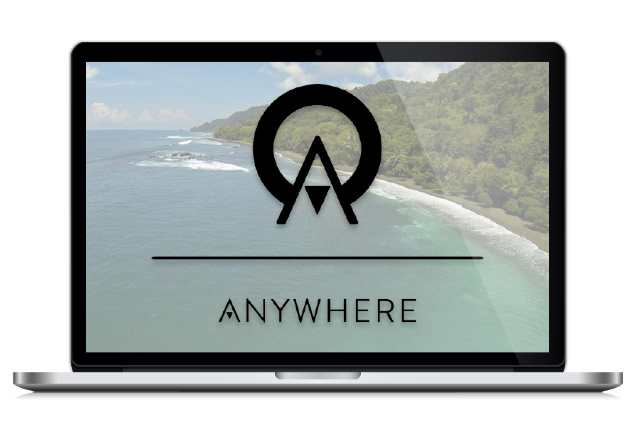 Anywhere.com- Digital Nomad Design - Client Potfolio
