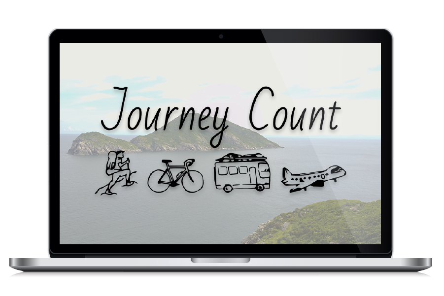 Journey Count- Digital Nomad Design - Client Potfolio