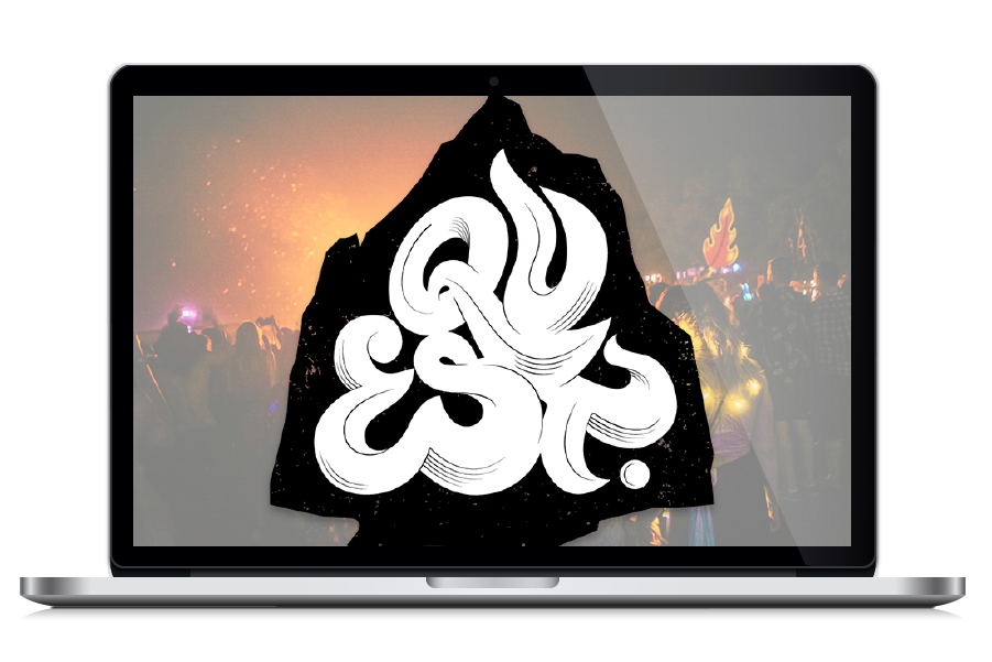 Quest Music Festival- Digital Nomad Design - Client Potfolio