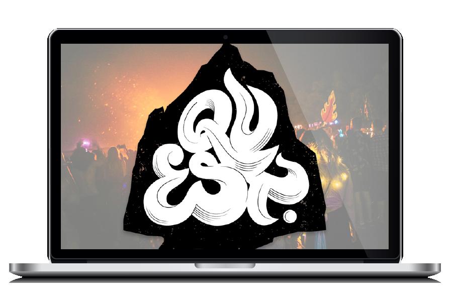Quest Music Festival- Digital Nomad Design - Client Potfolio