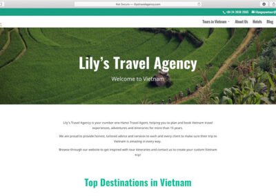 Lily's Travel Agency