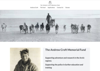 Andrew Croft Memorial Fund
